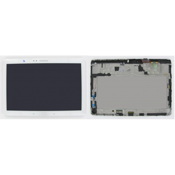 Original Samsung Galaxy Note 10.1 Display LCD P605 White...