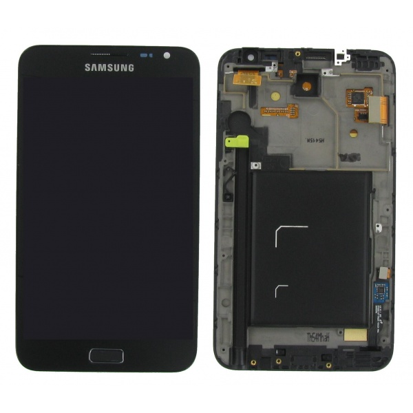 Original Samsung Galaxy Note N7000 Display LCD Rahmen...