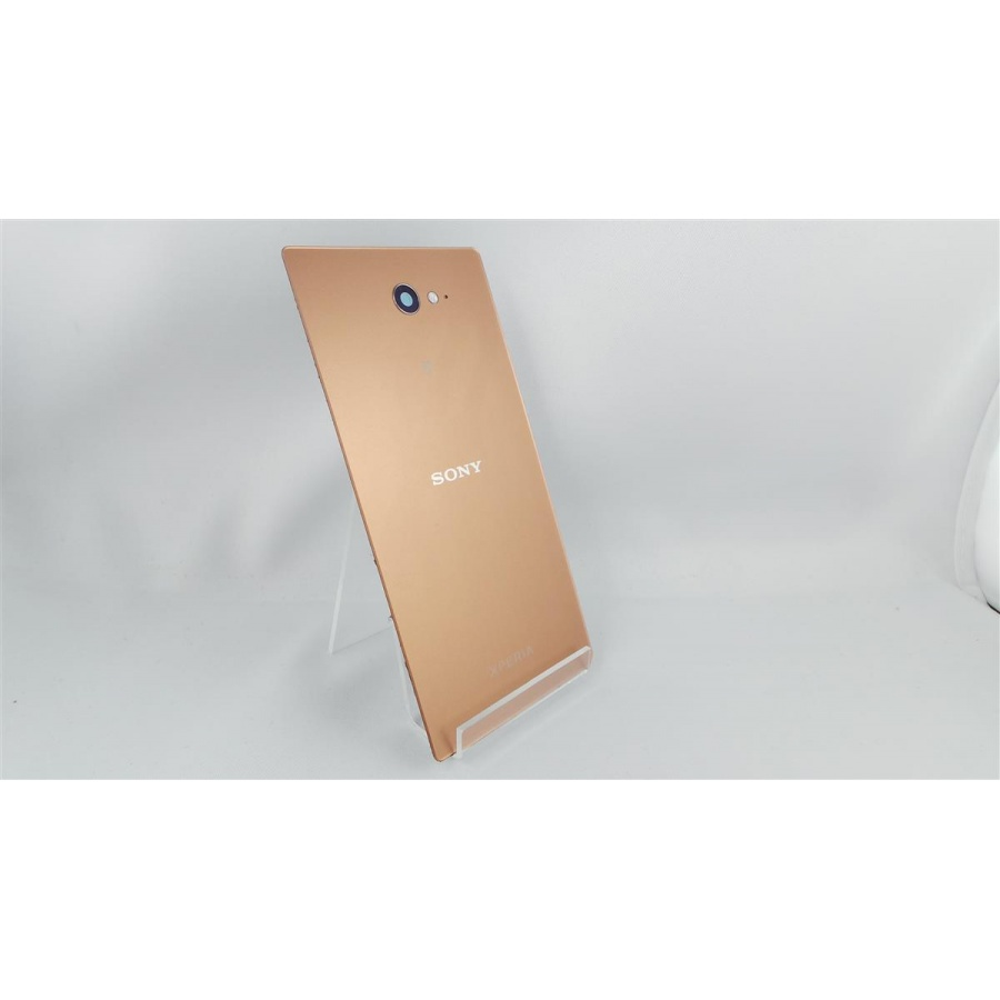 Original Sony Xperia M2 Aqua D2403 Akkudeckel Backcover Copper C-Ware