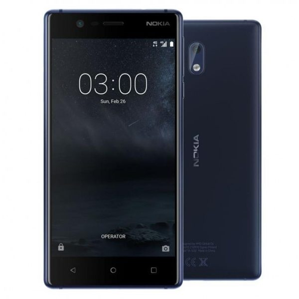 Nokia 3 16GB Tempered Blue Single Sim TA-1020 - Android...