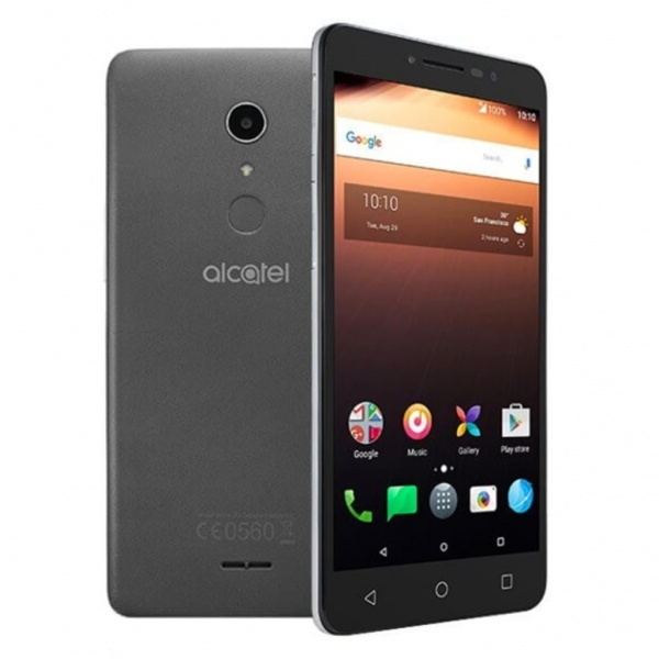Alcatel A3 XL 9008X 16GB Android 7.0 Smartphone 6 Grau 4G...