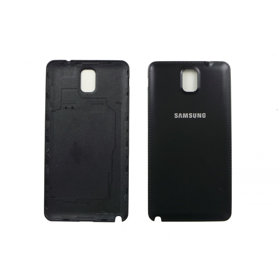 Original Samsung Galaxy Note 3 SM-N9005F Akkudeckel Backcover Black Schwarz Wie Neu