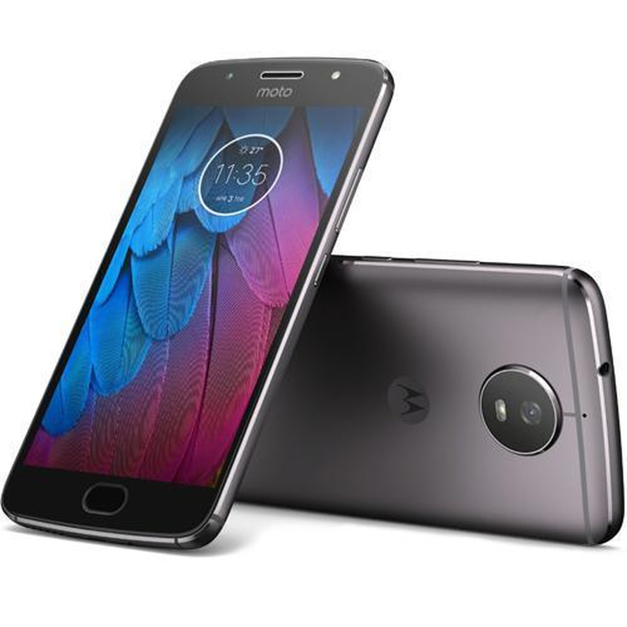 Motorola Moto G5S Special Edition XT1793 32GB Gray Smartphone Akzeptabel OVP