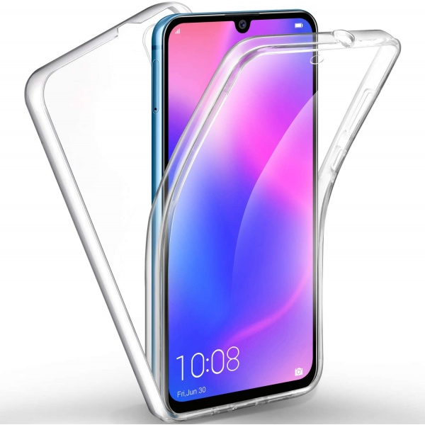 Huawei P30 Full Cover Silikon TPU 360° Transparent Hülle...