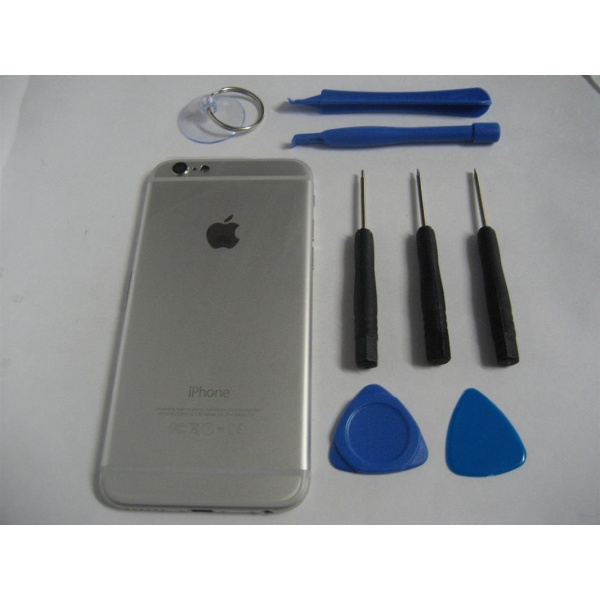 Apple iPhone 6 Akkudeckel Silber Backcover + Akku...