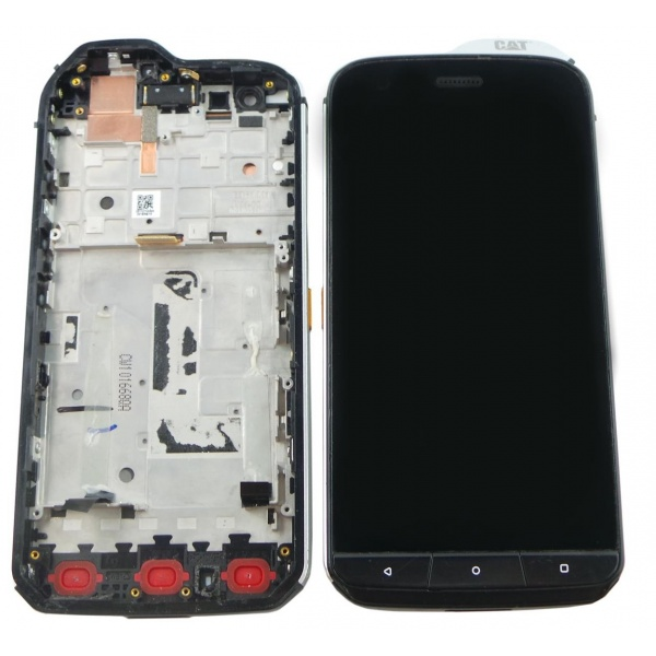 100% Original CAT S61 Display LCD Touchscreen Black...