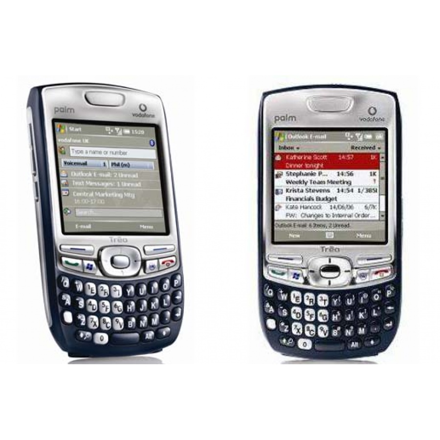 Palm Treo 750v Black Tastenhandy OVP QWERTY Akzeptabel