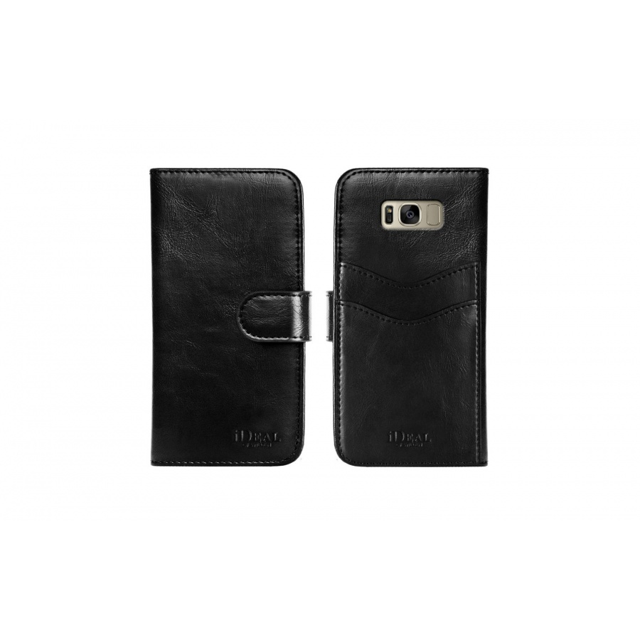 iDEAL OF SWEDEN Samsung Galaxy S8 Plus Magnet Wallet Leder Schutzhülle Black