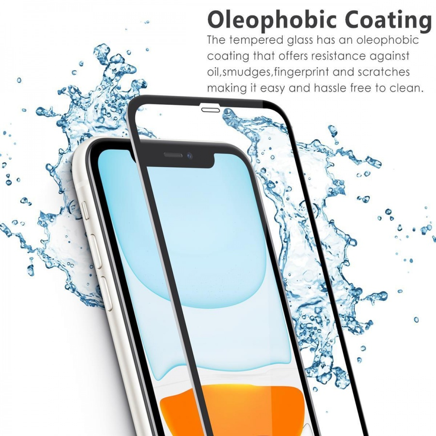 3D Premium 9H Japan Asahi Full Glas Panzerfolie Schutzglas Apple iPhone 11