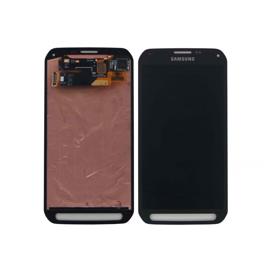 Original Samsung Galaxy S5 Active G870F Display LCD Grün Green Guter Zustand