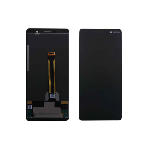 Original Nokia 7 Plus Display LCD Touchscreen Schwarz...