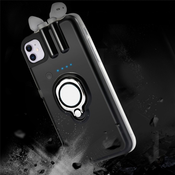 4in1 iPhone X / XS Airpods Cover Case Ladefunktion...