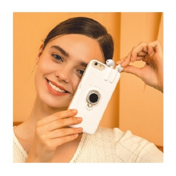 4in1 iPhone 11 Airpods Cover Case Ladefunktion...