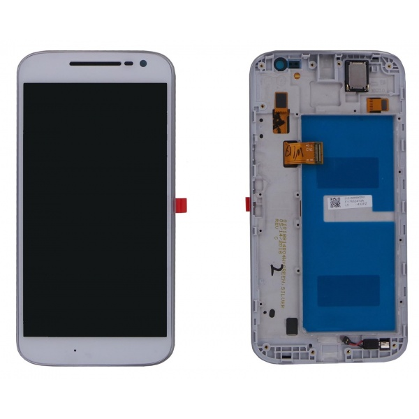 Original Motorola Moto G4 XT1622 Display LCD Rahmen Touch...