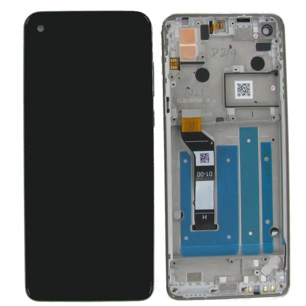 Original Motorola One Action XT2013 Display LCD Rahmen...